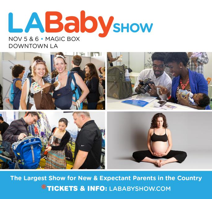 LA Baby Show Mom Kristin Cruz